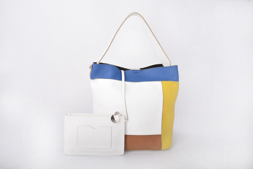 Genuine Leather handbags Bucket bags for women