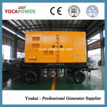 200kw/250kVA Trailer Electric Diesel Generator Power Generation