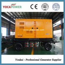200 кВт / 250 кВА Трейлер Электрический дизель Генераторная мощность