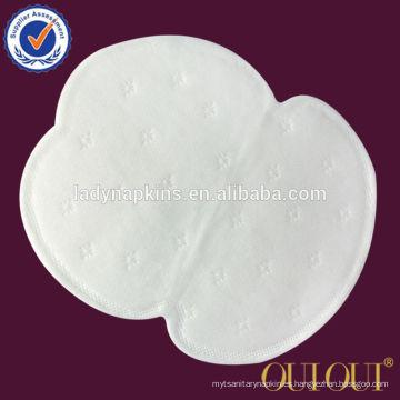 Forme a mujeres el proveedor absorbente estupendo del algodón de los cojines de sudor de la axila