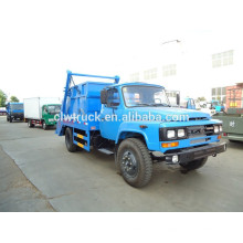 Caminhão de lixo do recipiente de DongFeng 140 6CBM