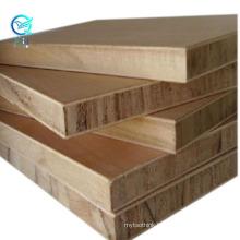 Qinge good price poplar core melamine laminated block board sheets price with FSC certificate