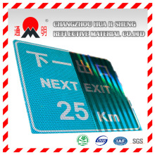 Acrylic High Intensity Grade Reflective Material Vinyle for Highway Road Safety Sign Guiding Sign (TM1800)