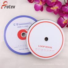 25mm Polyester Schwarz Haken und Loop Tape