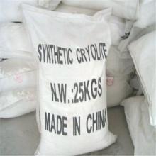 Criolita artificial de grado industrial utilizada para muela abrasiva