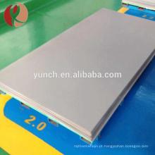 produtos quentes da china preço por atacado de folha de titânio por tonelada