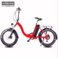 2017 neue design 48V1000W 20 '' klapp elektrische chopper fahrrad mit versteckter batterie, fett e-bike aus china