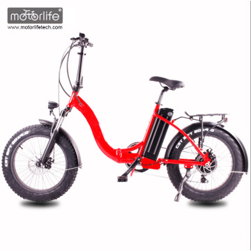 2017 New design 48V1000W 20'' folding electric chopper bike with hidden battery,fat e-bike from china