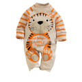 2016 hot sell spring autumn baby girl romper panda printed cotton unisex baby romper wholesale