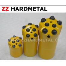 7 boutons Bout de bouton de fil de champ de pétrole de roche