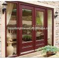 2014 New Products Double Exterior Wooden Door French Door for Balcony