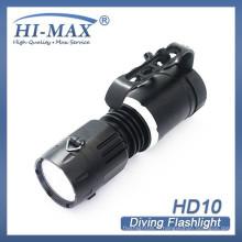 Prix de gros de la plus haute qualité 3100 lumens sous-marin profondeur plongée hot-deals caché la torche