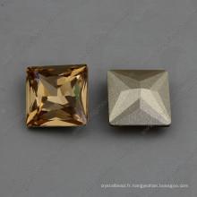 Perles carrées en pierre de Chine