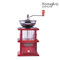 Red Manual Ceramic Core Coffee Grinder