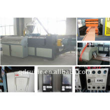 Máquina de produção de chão WPC