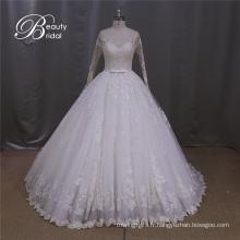 Robes de mariée A-ligne Alencon dentelle robe de mariée