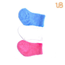 Baby einfarbig fuzzy Socke