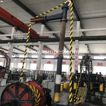 China for PP Polypropylene Rope Tiger Rope 8-Strand Mooring Rope export to Denmark Manufacturers