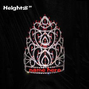 Coronas de reina de 8 pulgadas de altura al por mayor
