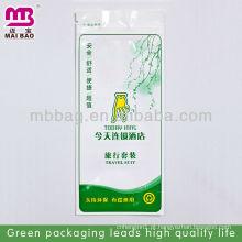 Materiais de embalagem ecologicamente qualificados para toalhetes húmidos