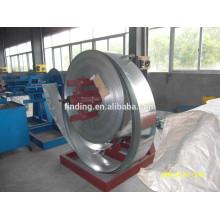 Desbobinador de bobina máquina aço inoxidável acessórios/aço