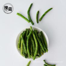 Snacks orgánicos naturales 100% puros secos Chips de judías verdes