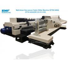 Máquina de corte longitudinal de tela no tejida soplada de fusión médica