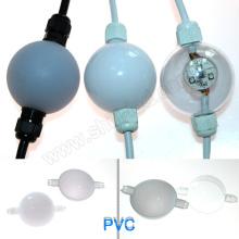 A esfera 3d do dmx da cor completa de 50mm conduziu a iluminação conduziu o módulo do pixel, nó do pixel