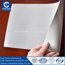 1,2 mm 1,5 mm 2 mm d'épaisseur pvc sous-sol membrane étanche