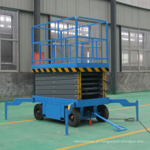 Sjy0.3-12 tipo móvel plataforma de elevador de tesoura