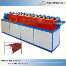 Acero y rollo enrollable enrollable de la puerta del metal que forma la máquina / puerta que rueda que hace la línea
