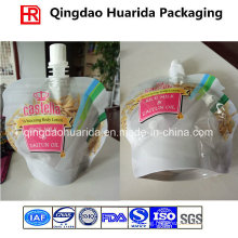 Custom Printed Stand up Spout Pouch for Body Lotion/Beverage