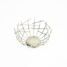 Nordic Creative Iron Fruit Basket Home Living Room Storage Supplies Fruit Tray Snack Storage Basket