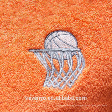 good absorbent soft textile embroidery basketball sport towel ST-005