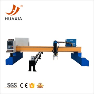 CNC gantry type pipe sheet plasma cutting machine