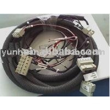 Automotive wire harness cable wiring assemblies for electric tools and machines