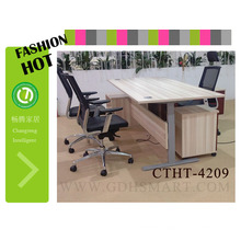 office furniture system electric rectangular 2 leg table lift system