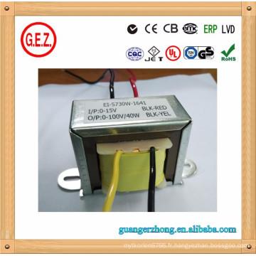 transformateur pur cuivre RoHS EI 57 35 transformateur de puissance