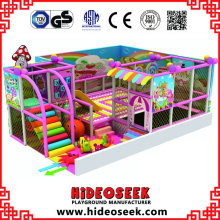 Süßigkeit billige kleine Indoor Soft Play Equipment für Kindertagesstätten