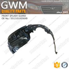Protector de salpicaduras de piezas de automóviles Great Wall OE 5512101XS56XB