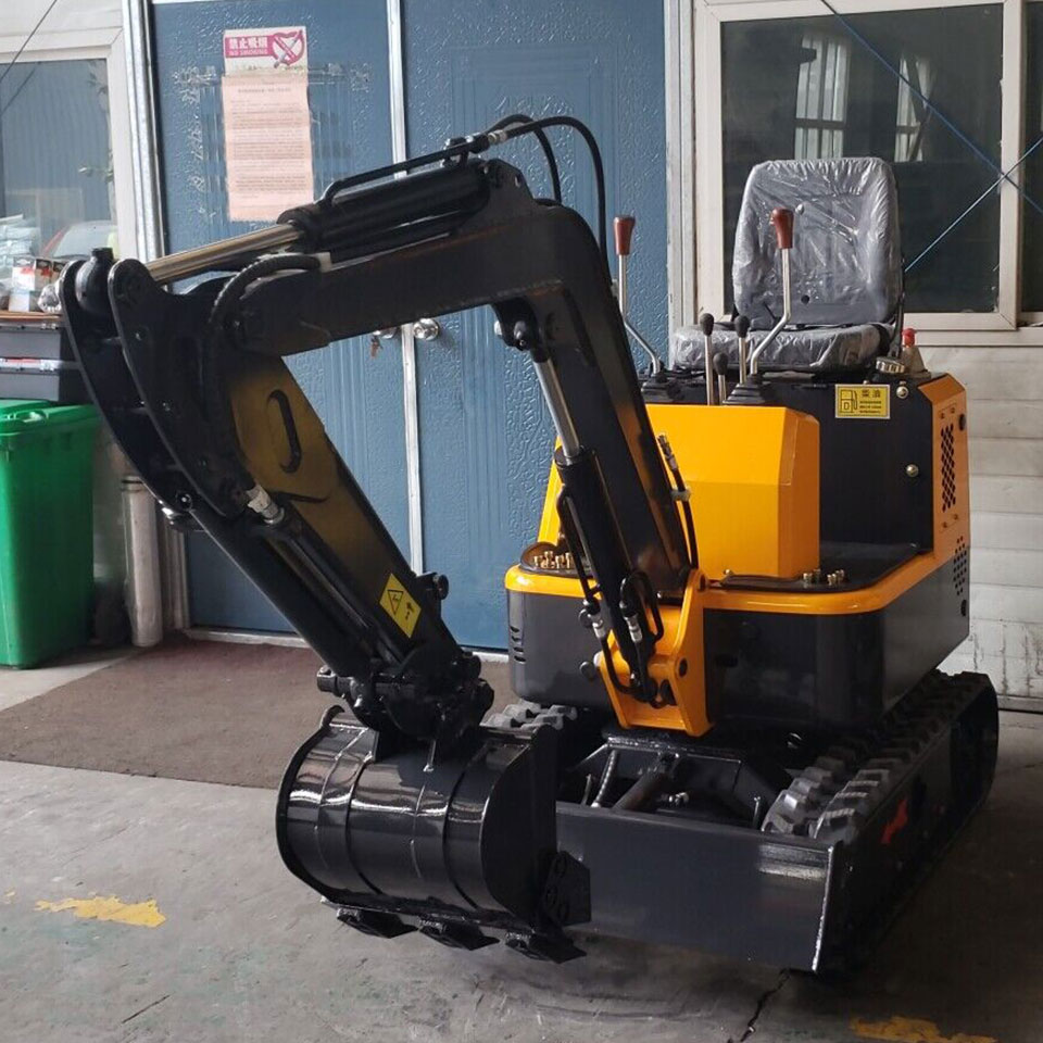 Mini Excavator Towable Backhoe