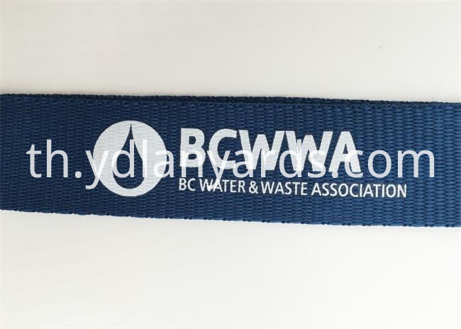 2.0CM Silk Screen Lanyards