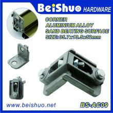 Quincaillerie et porte Quincaillerie en métal Métal Porte Angle Support en aluminium
