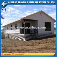 Structure d'acier préfabriquée Conception de maisons modulaires à faible coût
