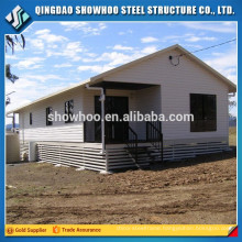 Prefabricated Steel Frame Low Cost Modular Homes Design