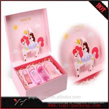 Kundengebundene Qualitäts-Prinzessin Cosmetic Paper-Pappschachtel