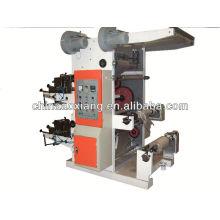 YT-2600 zwei Farben Kunststofffolie Rolle zu Rolle Siebdruckmaschine