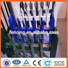 PVC-Beschichtung Hochsicherheits-Stahl Palisade Zaun (Fabrikverkauf und Export)