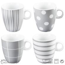 Gray Design New Bone China Mug
