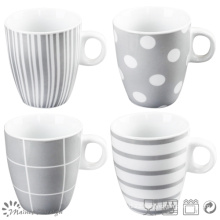 Grey Design New Bone China Mug